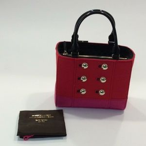NWT Kate Spade Beantown maraschino red Quinn bag